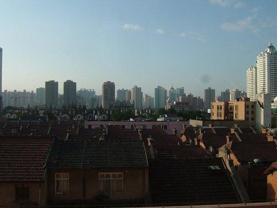 Mason Hotel Shanghai: 朝、部屋からの眺め