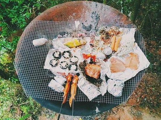 Sekeping Serendah Retreat: BBQ
