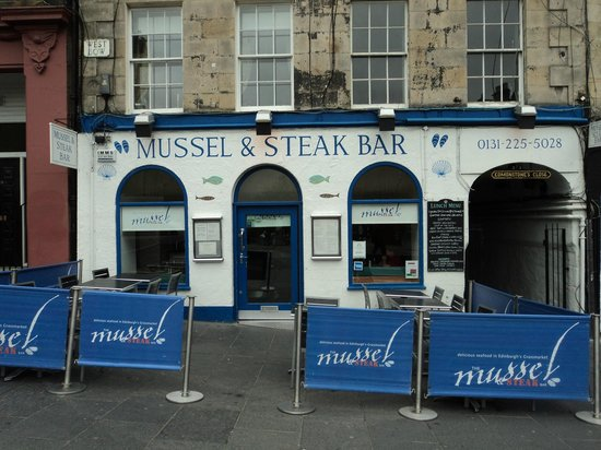 Mussel and Steak Bar : esterno
