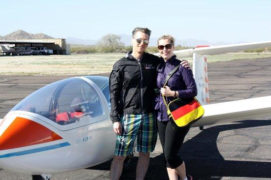 Arizona Soaring Inc.: Post-glide glow