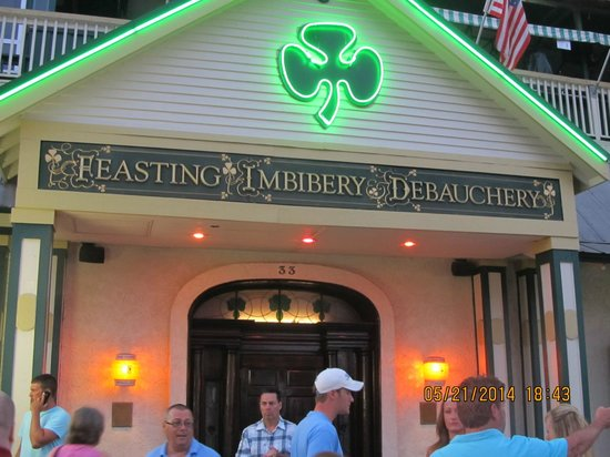 McGuire's Irish Pub: Outside