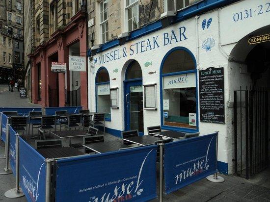 Mussel and Steak Bar : esterno