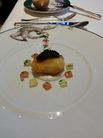 Le Cirque: Egg & Caviar