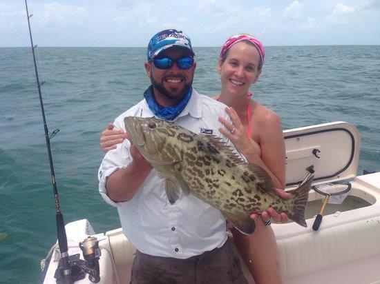 Bonnet head shark picture of captain doug kelley florida for Marathon key fishing charters