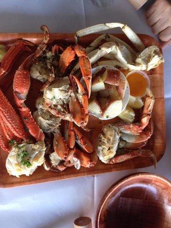 Rustic Inn Crabhouse : Crab combo