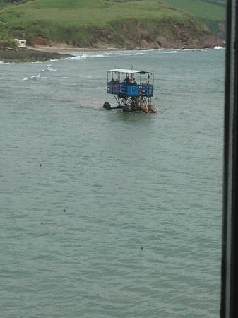 Burgh Island Hotel: Sea Tractor