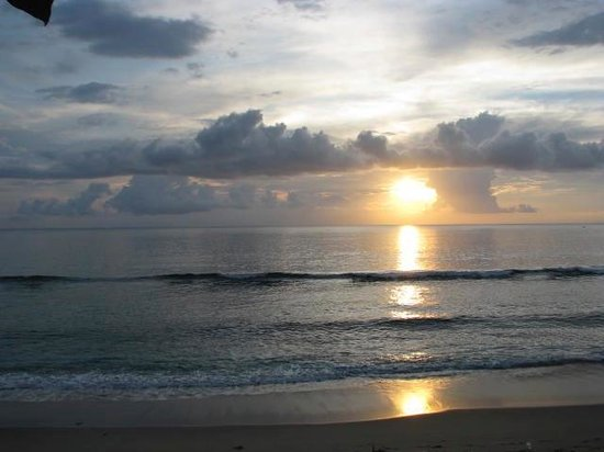 Sudamala Suites & Villas Senggigi : Sunset at the Sudamala