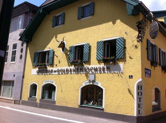 Hotel Goldener Ochs: une des façades de l'hotel
