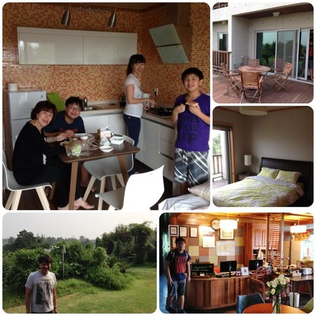 Jejueco Suites : our cosy lil apartment in Jeju-do... Lovely! :)