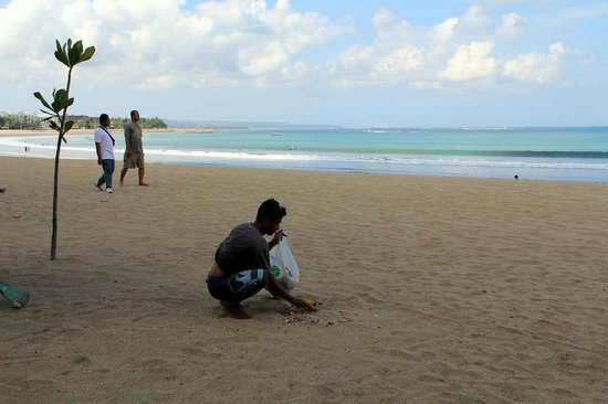 Kuta Beach - Bali: Partisipasi