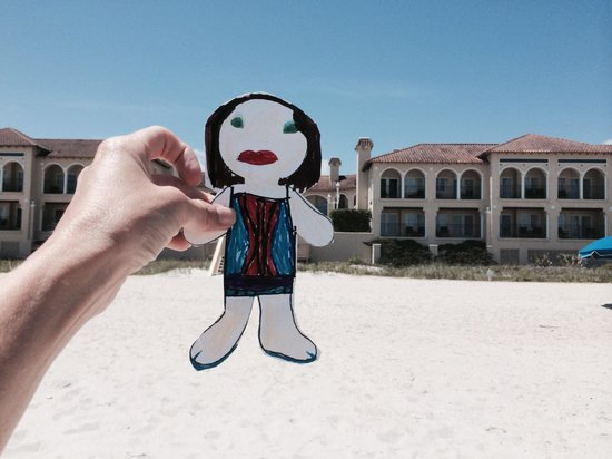 The Lodge and Club at Ponte Vedra Beach: Flat Stanley on vacation at the lodge