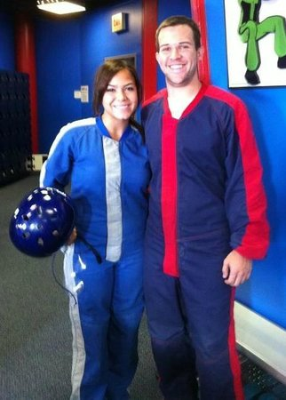 iFLY Indoor Skydiving - Orlando : Testing it out