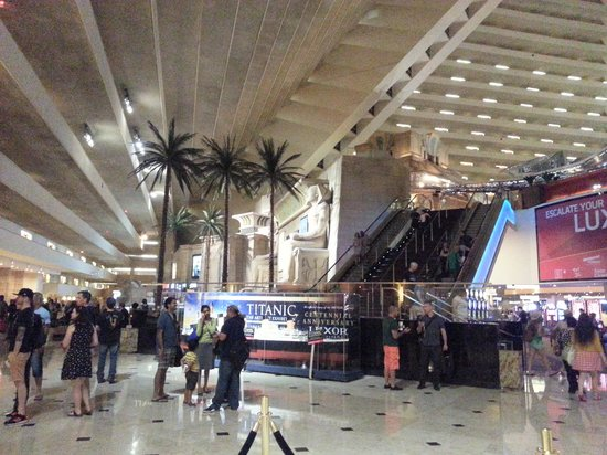 Luxor Las Vegas: Look around,  go ahead. Just don't hurt yourself! :D