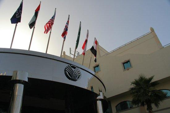 Al Ain Rotana Hotel: Hotel exterior
