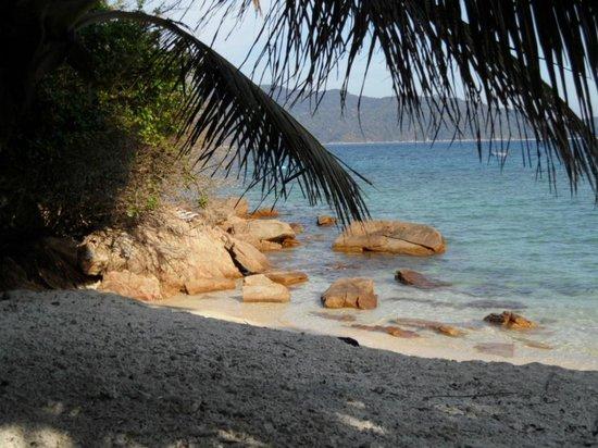 D'Lagoon : La plage de l'hôtel