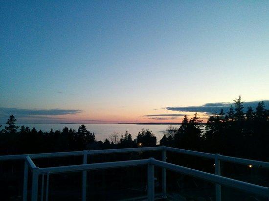 Oceanstone Resort: View from rhubarb 2!