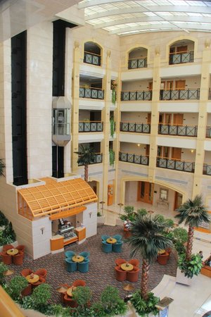 Al Ain Rotana Hotel : View from corridor