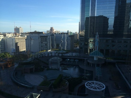 Omni Los Angeles at California Plaza: View from my room