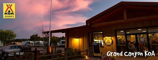 Grand Canyon / Williams KOA: Coffee Bar at the Grand Canyon KOA
