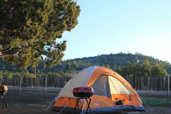 Grand Canyon / Williams KOA: Tent Camping at the Grand Canyon KOA