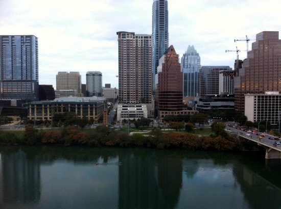 Hyatt Regency Austin: View from Balcony River Room