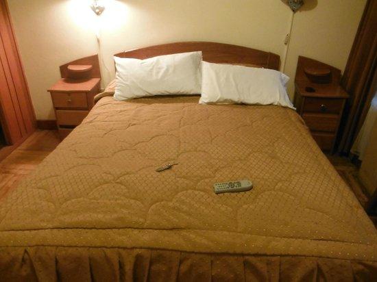 Hostal Cusi Wasi: Habitación cómoda: reducida y sencilla