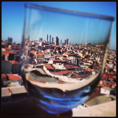 Bilek Hotel Istanbul: Hayran kaldigim msnzara