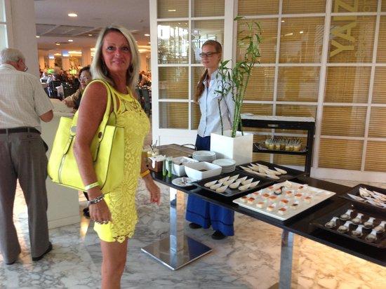 H10 Lanzarote Princess : entrée de restaurant