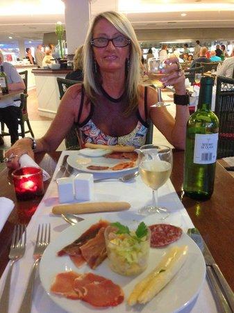 H10 Lanzarote Princess : restaurant