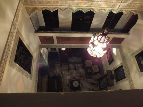 Riad Dar Guennoun: view from my room