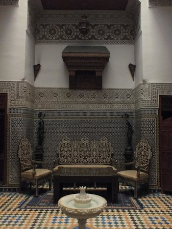 Riad Dar Guennoun: ground floor
