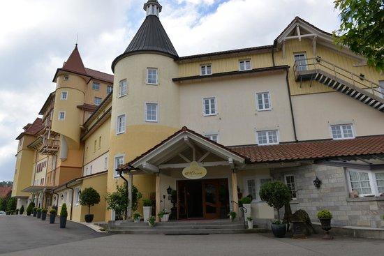 Vital-Hotel Meiser: Hotel / restaurant front