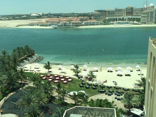 Traders Hotel, Qaryat Al Beri, Abu Dhabi: View from club lounge