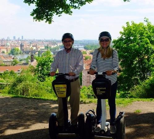 Prague On Segway, on E-Scooter, on Quad : Accomplished segway riders
