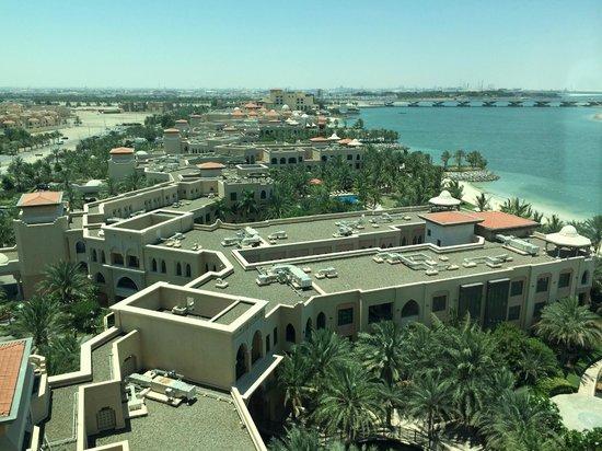 Traders Hotel, Qaryat Al Beri, Abu Dhabi: View from the club lounge