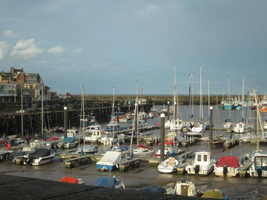 Rags Hotel, Bar & Restaurant: harbour view