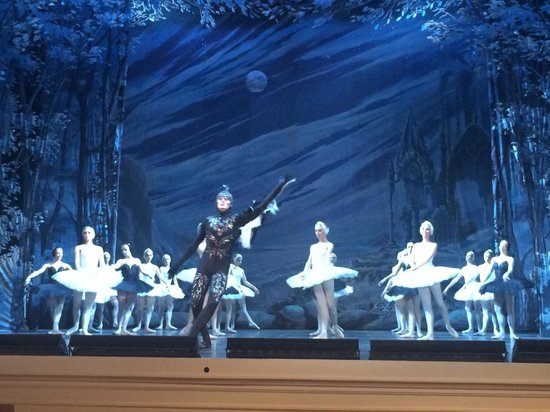 Hermitage Theater: Swan lake