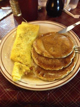 Log Cabin Pancake House: Western Omelet