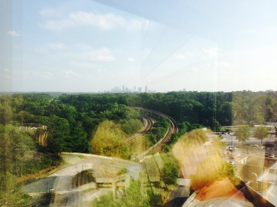 JW Marriott Atlanta Buckhead : Great view of Atlanta