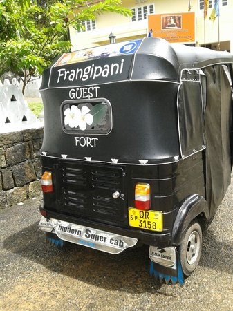 Frangipani Motel : Trishaw