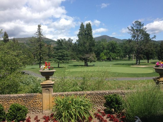 Silverado Resort and Spa : Spectacular view from the main mansion