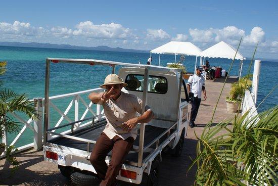 Luxury Bahia Principe Cayo Levantado Don Pablo Collection: on the jetty