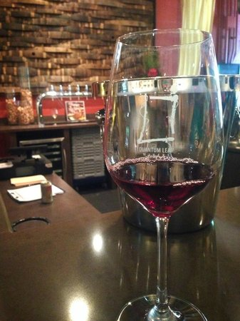 Quantum Leap Winery: Kaley's red!