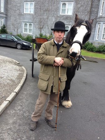 Dromoland Castle Hotel: Sean and Paddy