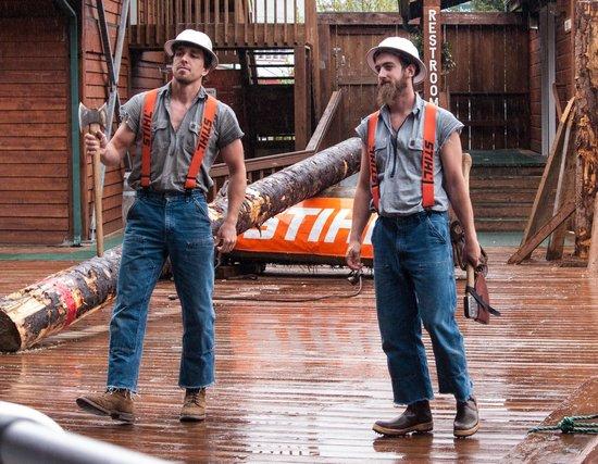 Great Alaskan Lumberjack Show: Team USA