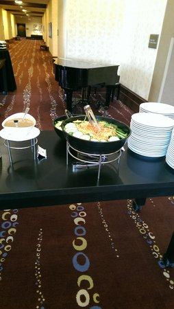 Indianapolis Marriott Downtown: Beautiful Food Presentation