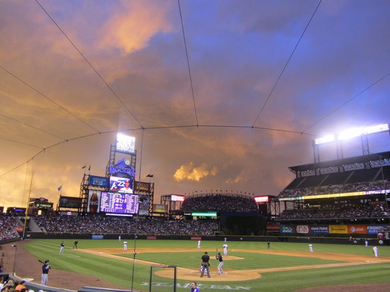 Crazy Sky at Coors Field