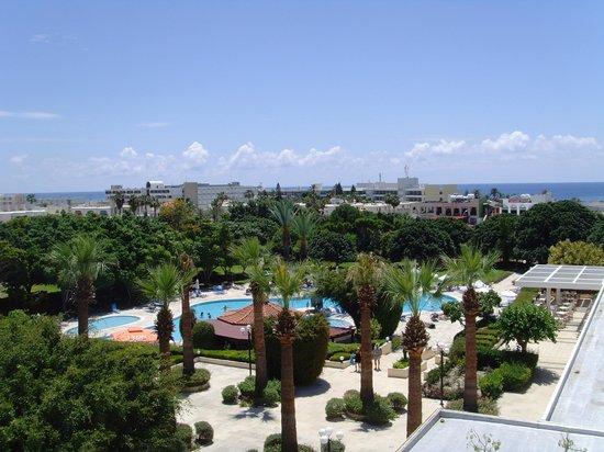 Avanti Hotel: View from top floor
