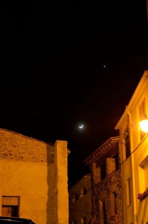 Hotel Cal Llop: clear night sky and view of stars