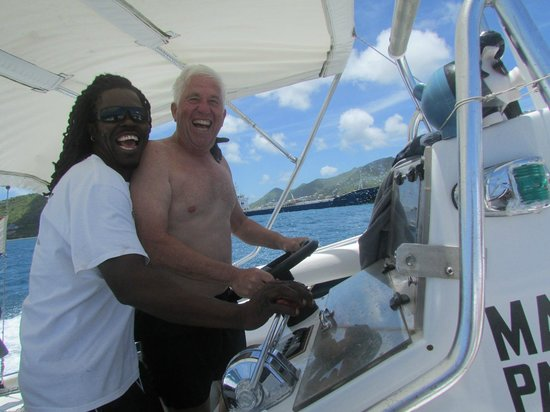 Dive Adventures : Captain Soinet and our friend Lee